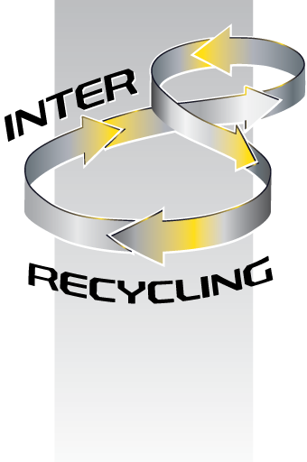 Inter Recycling Retina Logo